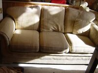 3 Seater Sofa and Armchair - Can Deliver