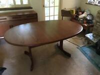 G plan Vintage dining table