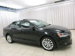 2011 Volkswagen Jetta TDI DIESEL TURBO SEDAN w/ SUN ROOF, HEATED