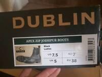 Dublin Apex Jodphur Boots Size 5