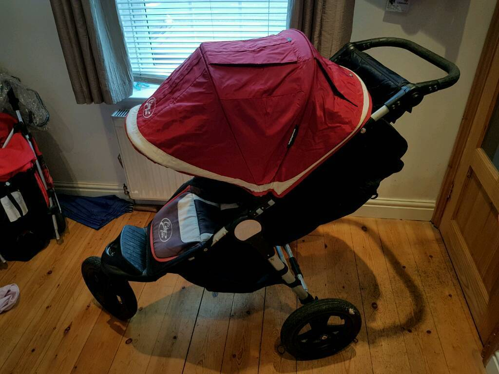 Pushchair with cot. Baby Jogger City Elite