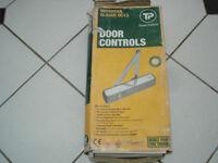 Door Closer: Travis Perkins 536877 DC13 Overhead Door Closer Silver UNUSED
