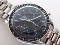 OMEGA Speedmaster Chronograph Automatic wrist Watch Ref:3510.50 Moon Nasa seamaster £1250