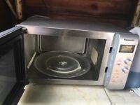 Panasonic silver microwave