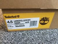 Genuine Timberland junior size 4 boots in immaculate condition