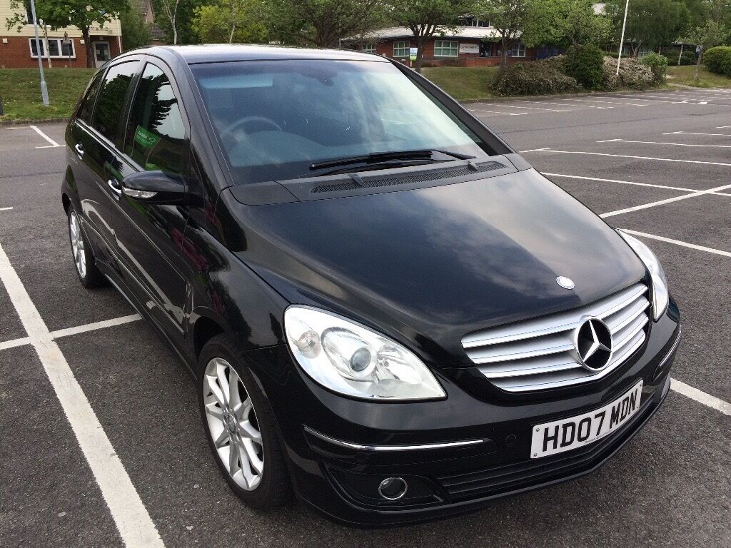 mercedes b class 2007 black metallic vgc in poole dorset gumtree. Black Bedroom Furniture Sets. Home Design Ideas
