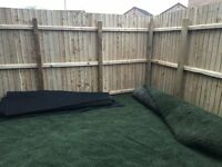 ARTIFICIAL GRASS AND UNDERLAY 12 SQ.M - NEW