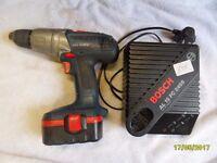 a bosch 18v battery hammer drill
