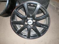 """Mags 17"""" 4 trous Honda, VW, Hyundai, Mini, etc..."""