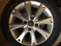 "Ford Fiesta 15"" Zetec Alloys and Tyres"