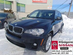 2013 BMW X5 XDRIVE 35i, M PACK, CUIR, GPS, TOIT, 1 PROPRIO !!!
