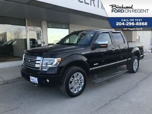 2014 Ford F-150 Platinum Supercrew 4x4 *Leather/Nav/Moonroof*