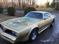 1978 Pontiac Trans am T/A 455ho ram air 4speed
