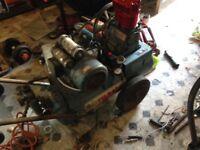 Air compressor . Air master belt driven