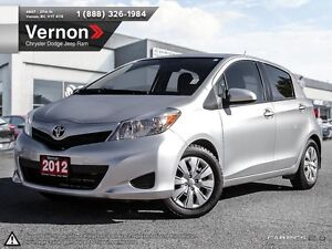 2012 Toyota Yaris LE AUX-IN   BLUETOOTH FWD AUX-IN   BLUETOOTH