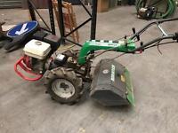 Adriatica AC300 Honda 8hp mini tractor rotovator