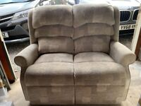 Two seat almost new HSL sofa