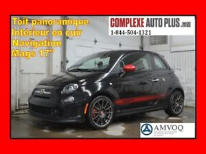 2014 Fiat 500 Abarth 1.4T *Turbo,Cuir Rouge,Toit pano