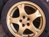 """16"""" Subaru alloys"""