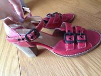 River island red shoes uk 7