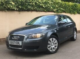 AUDI A3 (57) 2007 SPECIAL EDITION RARE 1.6 PETROL+ ONLY 1 OWNER FROM NEW