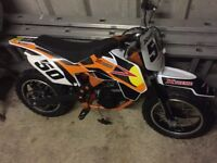 Child's motorcross bike