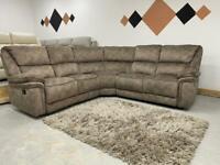 Brand new Harvey's corner sofa