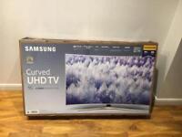 "Brand New 55"" Samsung Curved 4K UHD HDR SmartTV. I can deliver"