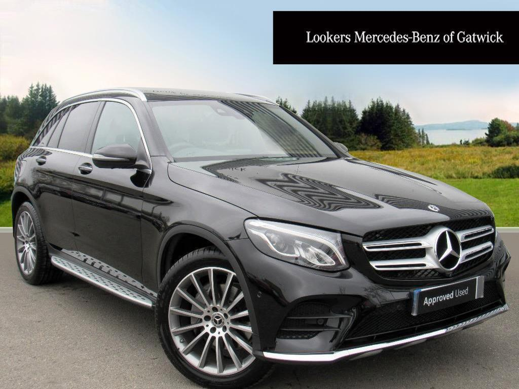 mercedes benz glc class glc 250 d 4matic amg line premium black 2018 03 30 in crawley west. Black Bedroom Furniture Sets. Home Design Ideas