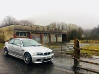 2003 BMW M3 E46 6 speed manual low miles silver subframe reinforced