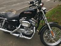 Harley Davidson 883 2400 dry miles mint condition