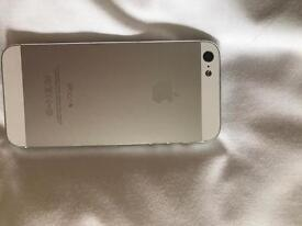 iPhone 5 Silver and White 32GB