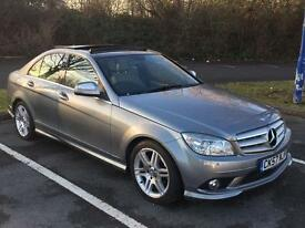 MERCEDES C220 CDI SPORT AMG AUTO WITH PANORAMIC ROOF
