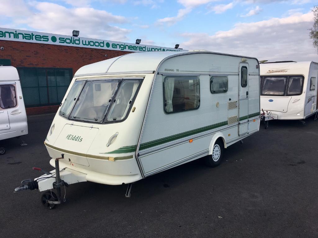 Berth Caravan With End Bunk Beds