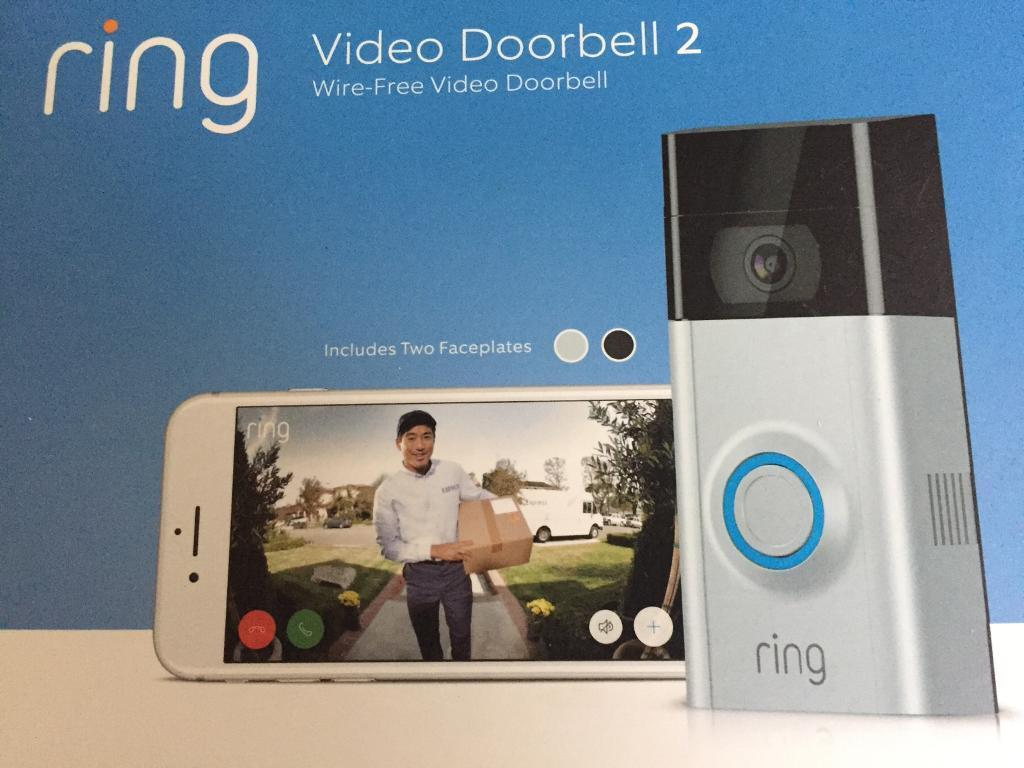 Ring 2 Doorbell Video Doorbell Newest Version In