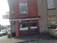 Chippy business for sale Rochdale, 58 Industry Rd OL12 0LY