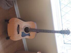 Acoustic Guitar Ibanez V - like new