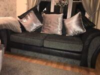 Snug sofa and 2 seater sofa including cushions