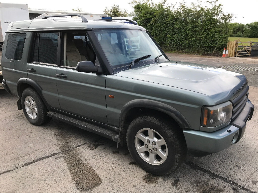 2003 land rover discovery td5 7 seater manual