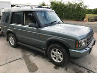 2003 Land Rover Discovery TD5 - 7 Seater Manual