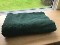 Rubber mesh matting