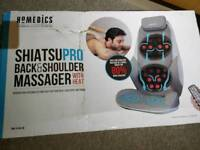 Homedics Shiatsu Pro Back & Shoulder Massager With Heat Kneading