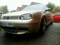 Vw golfFront and back anniversary splitters