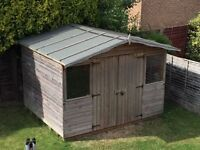10 feet x 8 feet Summer House Style Shed For Sale