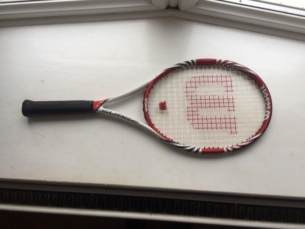 Wilson surge tennis racket