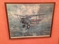 Gerald Coulson Print of a RAF Bristol Bulldog Fighter of 41 Squadron