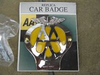 AA CAR BADGE replica