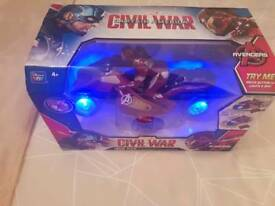 Avengers Remote Controlled Motorbike