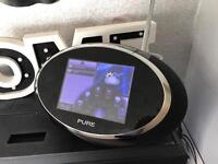 Pure sensia dab touchscreen radio with apps