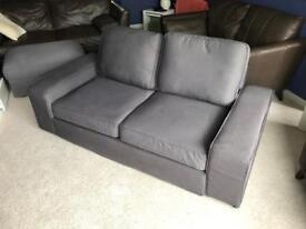 Ikea Kivik 2/3 Seater Sofa and matching Footstool